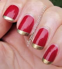 22 innovative red tip nail designs u2013 slybury com