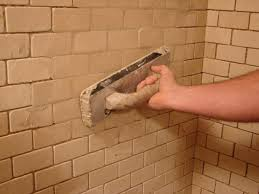 Replacing Grout In Bathroom How To Install Tile In A Bathroom Shower How Tos Diy