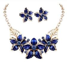beautiful earring necklace set images Beautiful jewelry set necklace earrings for woman with amazing jpg