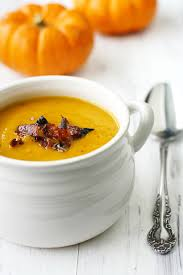 apple butternut squash soup with bacon best easy thanksgiving
