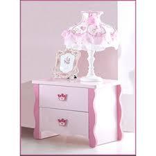 le de chevet chambre table de chevet pour chambre fille princess achat vente