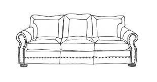 Couch Drawing Drawings Trendily Home Collection