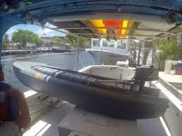 wavewalk s4 first sea trial on windy day with 5 hp outboard motor