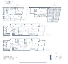 St Regis Residences Floor Plan Marquis Miami Condos For Sale 1100 Biscayne Blvd Miami Fl 33132