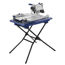 Masonry Saw Bench For Sale Shop Kobalt 7 In Wet Dry Tabletop Sliding Table Tile Saw With