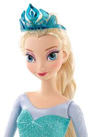 disney frozen sparkle princess elsa doll walmart