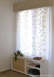 How To Sew A Curtain How To Replace Vertical Blinds With Curtains In Minutes Hometalk