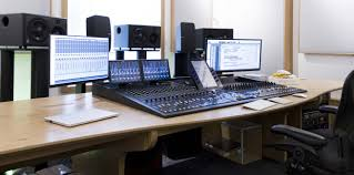 Recording Studio Workstation Desk by Aka Design Recording Studio Furniture For Mixing Composing And