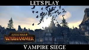 total siege total war warhammer vire counts siege battle let s play esrb