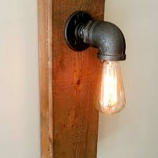 Edison Bulb Wall Sconce Light Vintage Antique Bronze Metal Wall Sconce Shade Edison Bulb