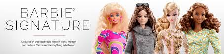shop rare u0026 barbie collector dolls barbie signature