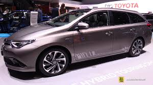 auris 2016 toyota auris hybrid touring sports exterior and interior