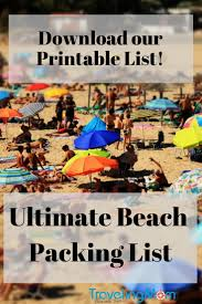 West Virginia travel packing list images The ultimate family beach vacation packing list traveling mom jpg