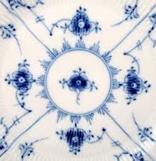 royal copenhagen blue fluted plain six plates no 1 178 or 621