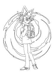 cool yugioh coloring colouring pages