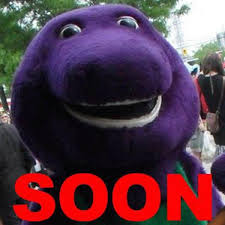 Barney Meme - barney is actually scarier than all the dinosaurs in jurassic park