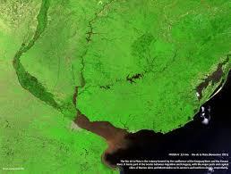 Parana River Map Space In Images 2013 12 Río De La Plata