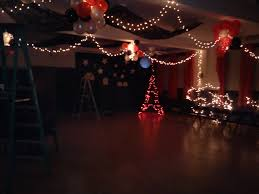 a starry night in paris theme coming to life for 8th grade semi