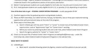 Government Sample Resume Resume Resume Examples Sample Resume For Government Jobs