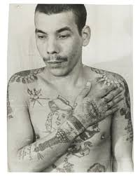 coded of prison tattoos