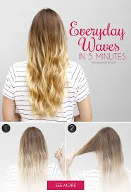 Easy Hairstyles Wavy Hair by 109 Best Gym Friendly Hairstyles Images On Pinterest Hairstyle