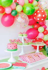 birthday themes this watermelon party is delicious birthdays summer and