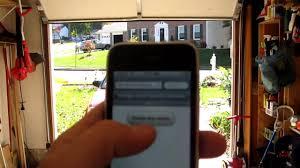 garage door opener consumer reports iphone controlled garage door opener using arduino youtube