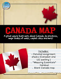 Canada Map Game by Classroom Freebies Too Map Skills Battleship Game