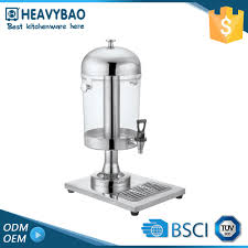 heavybao stainless steel buffet equipment kitchen juice tower