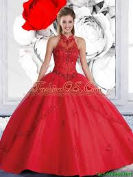 quinceanera dresses 2016 pretty gown halter top quinceanera dresses with beading