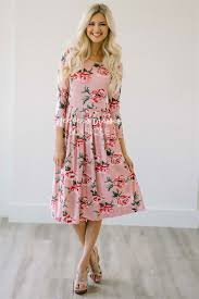 best place to buy bridesmaid dresses pink floral pleated pocket dress best place to buy modest dress