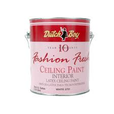 dutch boy 1 gallon white fresh look interior paint for ceiling