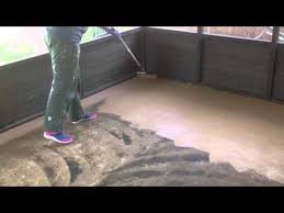 How To Remove Spray Paint From Concrete Patio Paint Your Concrete Patio Youtube