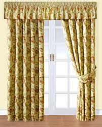 Yellow Curtains For Living Room Living Room Curtains For Big Windows Farmhouse Decor And Pillow