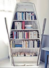 Boat Shelf Bookcase 15 Crazy Creative Diy Bookshelves