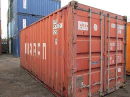 used 40 foot flat rack containers collapsible end with timber