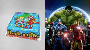 avengers cake tutorial easy youtube
