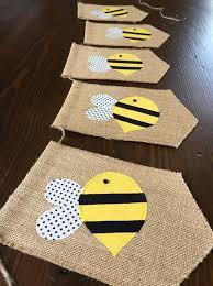Bumble Bee Nursery Decor Bumblebee Or Honeybee Birthday Bunting Banner Baby Shower Or