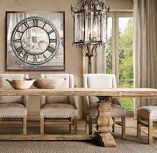 Dining Room Table Extensions by Best 25 Large Dining Room Table Ideas On Pinterest Paint Wood