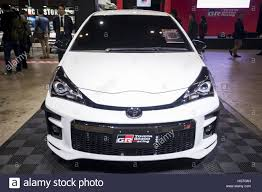 automobile toyota tokyo japan 13th jan 2017 the new toyota yaris gr on display