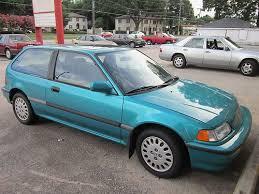 1991 honda civic si hatchback purchase used 1991 honda civic si hatchback 3 door 1 6l cracked