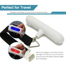 amazon com digital luggage scale suitcase weight scale