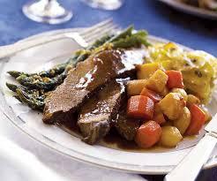 Mediterranean Style Food - mediterranean style brisket finecooking