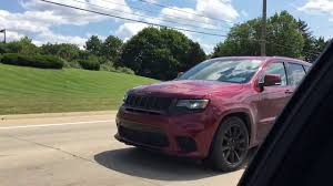 jeep trackhawk back 2018 jeep trackhawk in the wild youtube