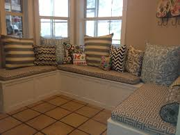 Custom Window Seat Cushions Furniture Cozy Indoor Bench Cushions For Exciting Interior