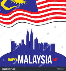 Maylasia Flag Illustration Happy Malaysia Day Malaysia Flag Stock Illustration