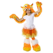 Candy Corn Halloween Costume Corn Monster Costume Hood Kids Halloween Fancy Dress