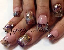 encapsulation nail art uñas encspsulados pinterest acrylic