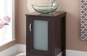contemporary vessel sink vanity bathroom decoration espresso vanity with decor small vanities vessel