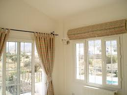 Roman Blinds Sheffield Mixing Blind And Curtain In Same Room Master Bedroom Pinterest